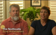 The Northcutts of Davis, CA talk about their motivation for going solar.